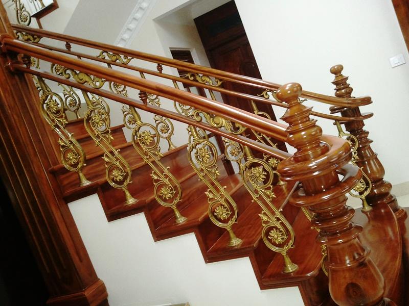 Cầu thang nhôm đúc -CT01