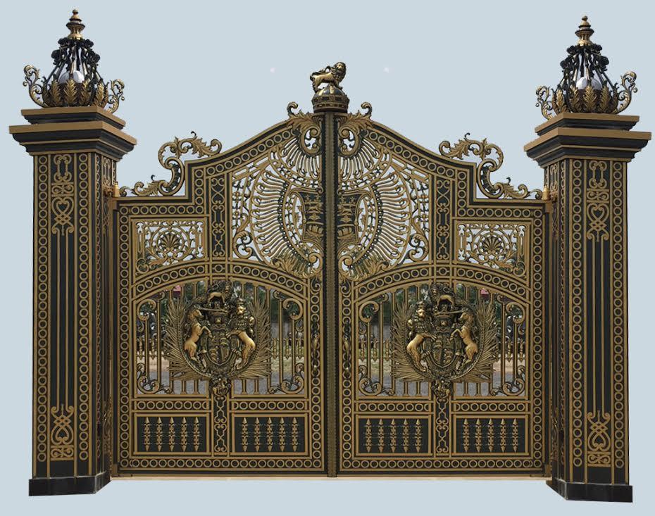 Mẫu cổng biệt thự - C10 : Mẫu cổng biệt thự cổ điển