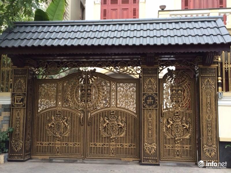 Mẫu cổng biệt thự - mẫu 10