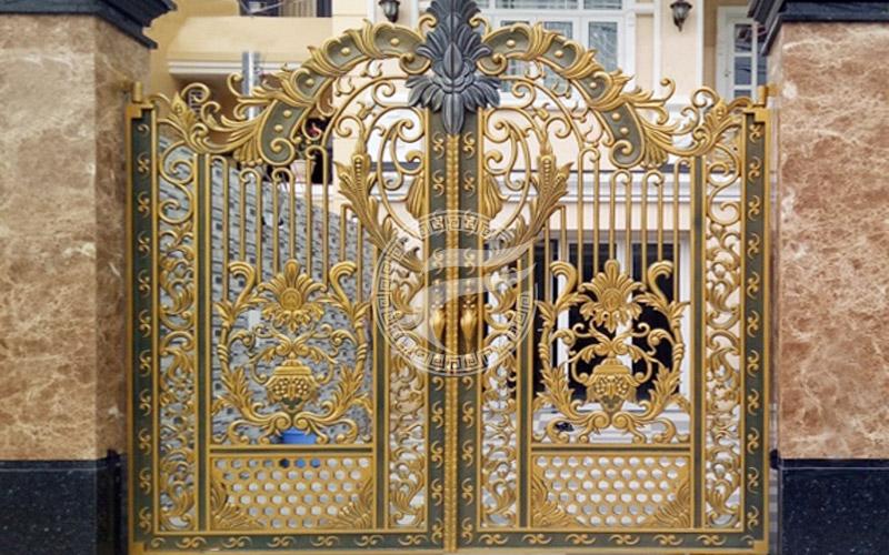 Mẫu cổng nhôm đúc- mẫu 55
