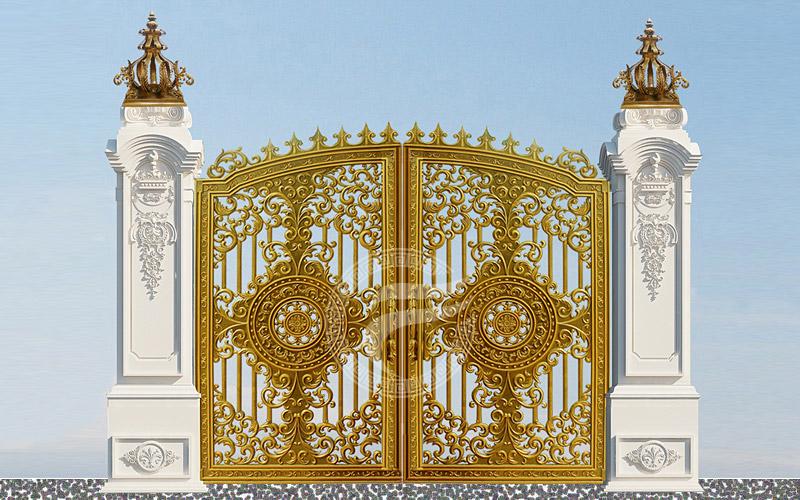 Mẫu cổng nhôm đúc -Mẫu 62