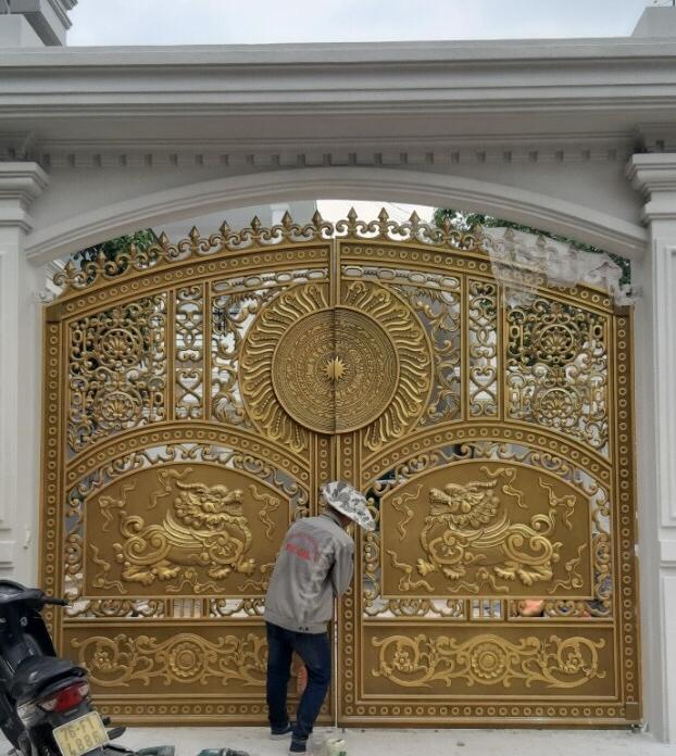 Mẫu cổng nhôm đúc FACO - AG67
