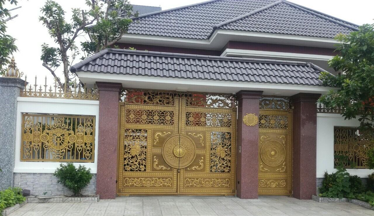 Cổng nhôm đúc FACO tại Quảng Nam