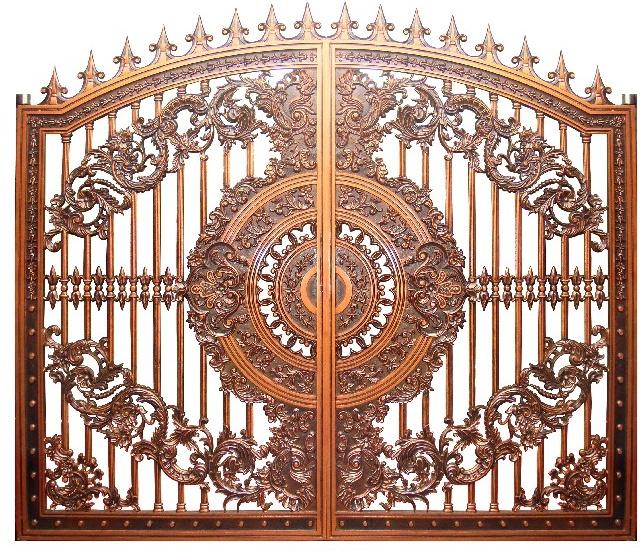 6 mẫu cổng biệt thự,cổng nhôm đúc cho nhà biệt thự đẹp