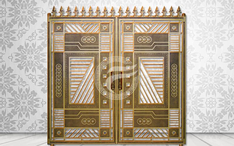 Mẫu cổng nhôm đúc-HG42