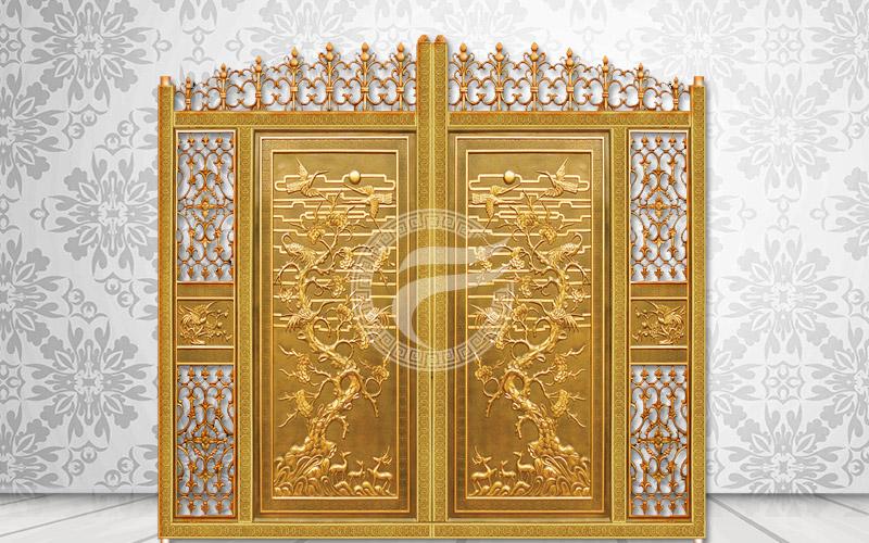 Mẫu cổng nhôm đúc hợp kim nhôm-HG1