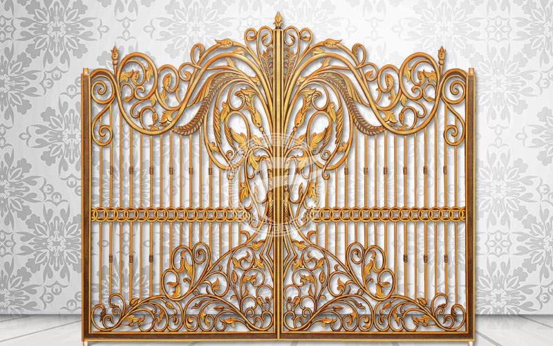 Mẫu cổng nhôm đúc - HG25