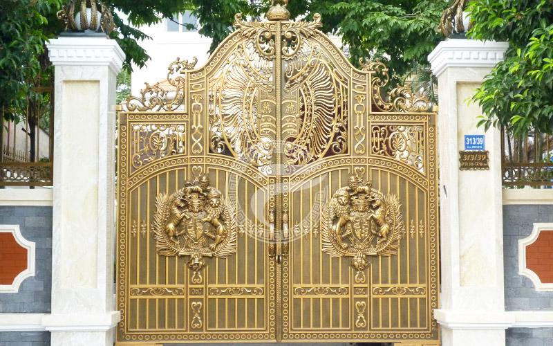 Cổng nhôm đúc- mẫu 049 : Cổng nhôm đúc Buckingham