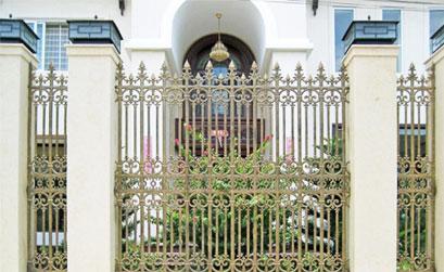 Hàng rào biệt thự-Hàng rào nhôm đúc HG3