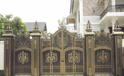 Cổng biệt thự đẹp -03