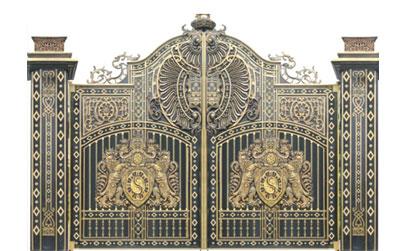 Cổng biệt thự đẹp -CBT01