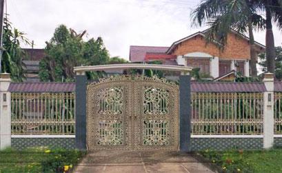 Cổng biệt thự đẹp -04
