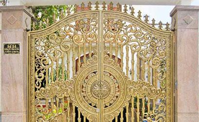 Mẫu cổng biệt thự đẹp -HG07