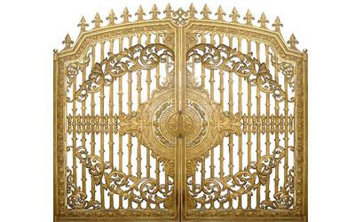 Thi công lắp đặt cổng nhôm đúc,hàng rào nhôm đúc tại Đồng Nai