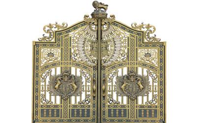 Mẫu cổng nhôm đúc-HG18