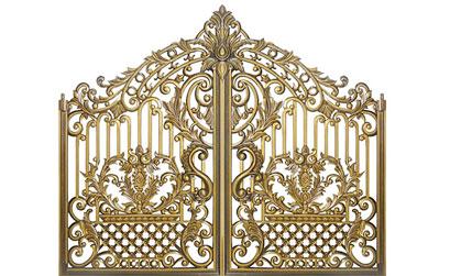 Mẫu cổng nhôm đúc -HG19