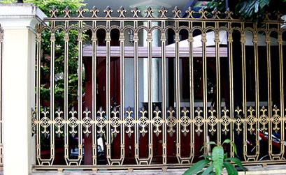 Hàng rào biệt thự - Hàng rào nhôm đúc HG1