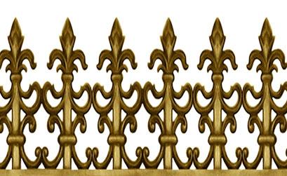 Hàng rào biệt thự - Hàng rào nhôm đúc 03