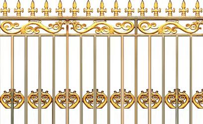 Hàng rào nhôm đúc - Mẫu hàng rào nhôm đúc -07