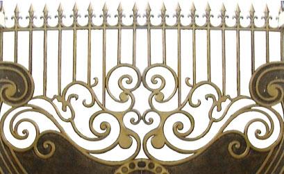 Hàng rào nhôm đúc - Mẫu hàng rào nhôm đúc -08