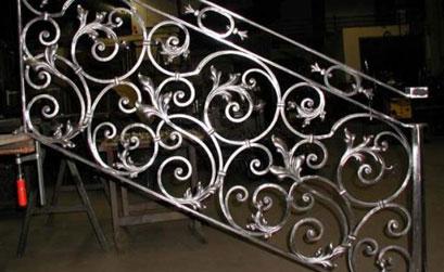 Lan can cầu thang nhôm đúc - 03
