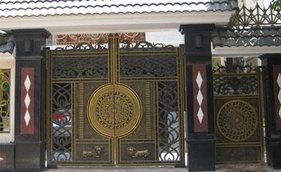 Mẫu cổng nhà biệt thự