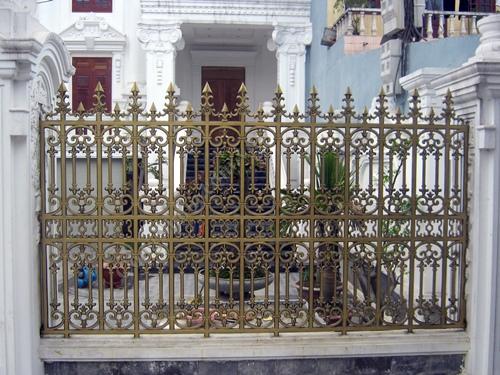 Hàng rào biệt thự - Hàng rào nhôm đúc 05