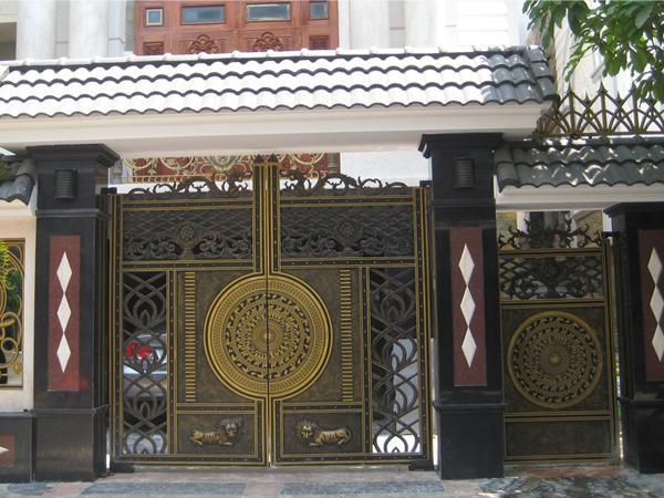 thiết kế cổng nhà 7