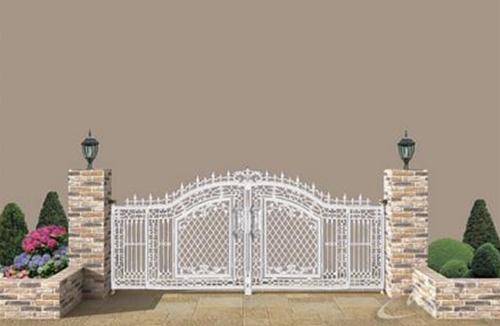 Ngôi nhà sang nhờ cổng đẹp | ảnh 2