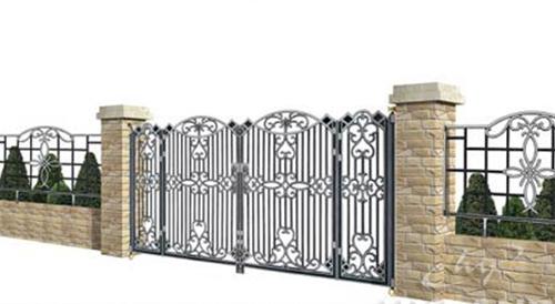 Ngôi nhà sang nhờ cổng đẹp | ảnh 3